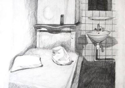 Kamer met wasbak
